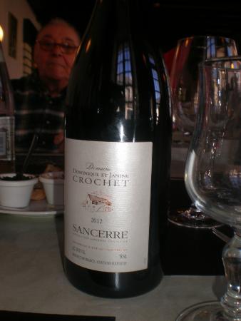 Hotel du Rempart : Vins regionaux