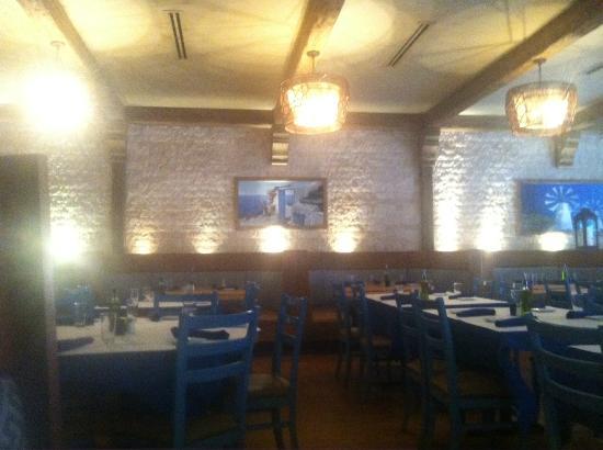 Santorini Estiatorio: Inside the restaurant