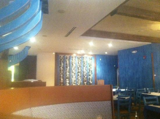 Santorini Estiatorio: Inside of restaurant