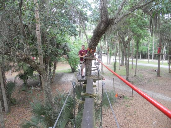 Ropes Course Picture Of Central Florida Zoo Botanical Gardens Sanford Tripadvisor