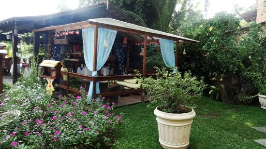 Pousada Cauca : Jardim