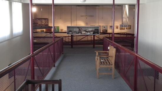 George Museum: View into Sayers Audotorium