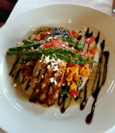 Grilled Salmon On Light Menu Picture Of Bravo Cucina Italiana