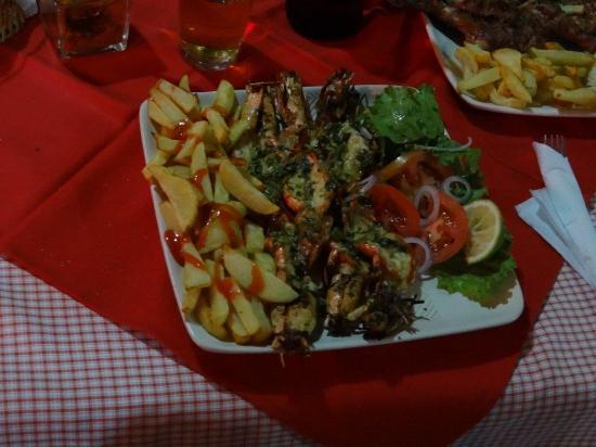 Manica, โมซัมบิก: Dinner