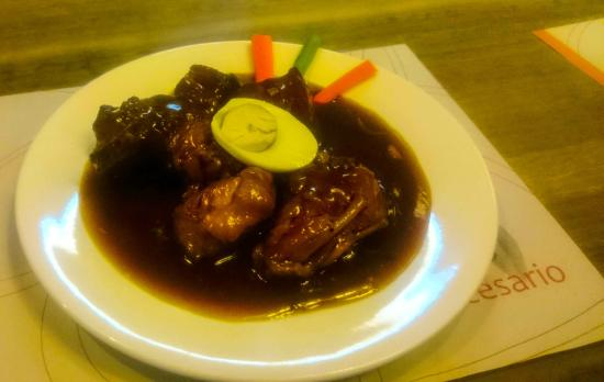 Cafe Cesario : Chicken/Pork Adobo