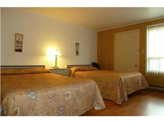 Motel Deblois: room with 2 beds