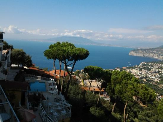 View from room 8. - Picture of Hotel Residence Le Terrazze, Sorrento ...