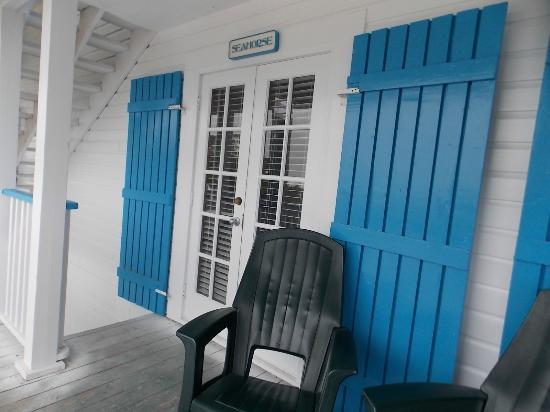 St George Inn : Seahorse Room Deck