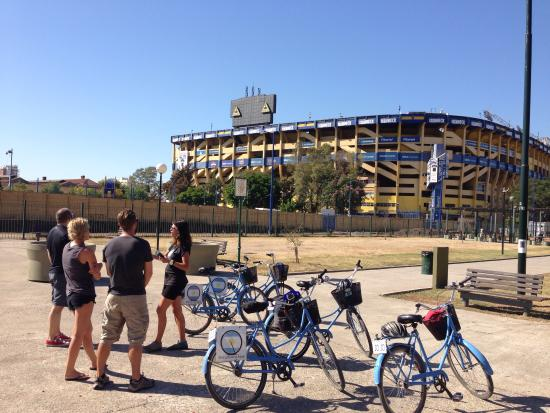Biking Buenos Aires: Great history!