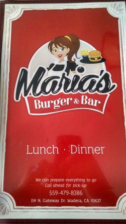 Maria's Burger & Bar