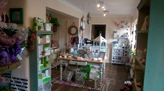Wymondham, UK: inside the gift shop