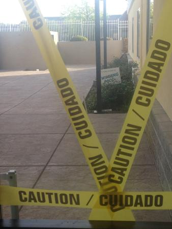 Holiday Inn Express Hotel & Suites Jackson: Pool closed