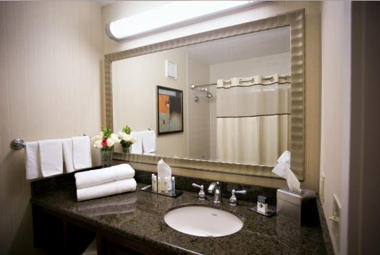Doubletree by Hilton Minneapolis - Park Place: Enjoy spacious vanities in our standard rooms