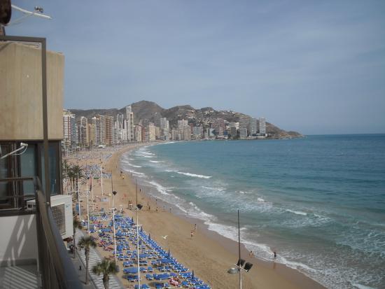 Hotel Bilbaino : Vista de la Playa de Levante