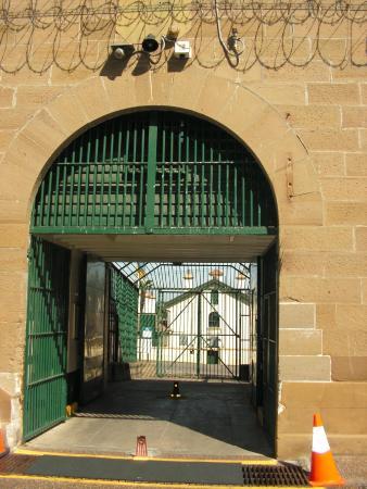 Maitland Gaol: old sally port