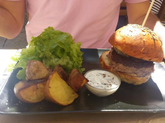Le petit comptoir : Burger coppa tome de Savoie!