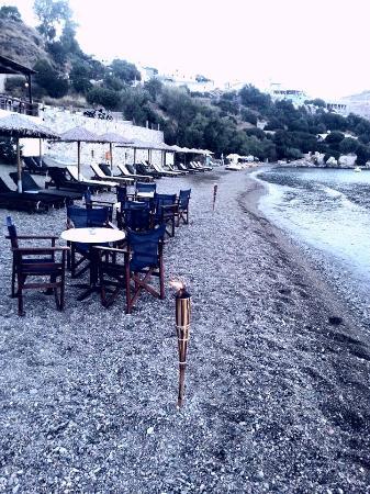 Leros, Greece: paradisos beach