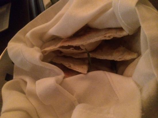 Cenacolo Kukulcan: Pita bread Rosemary