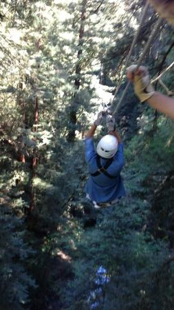 """Mount Hermon Adventures : Doing what they call """"The James Bond"""""""