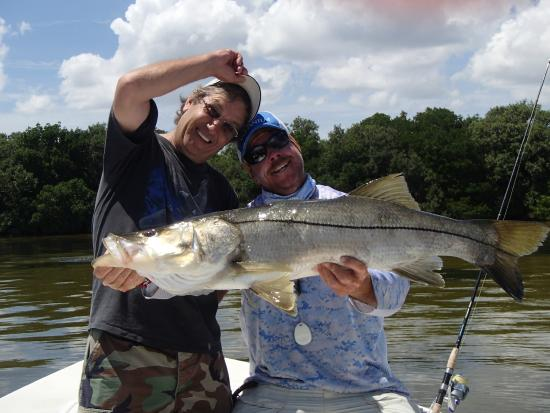 """Shallow Point Charters: 42"""" snook"""