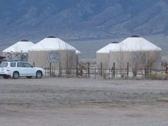 Joyful Journey Hot Springs Spa: yurts