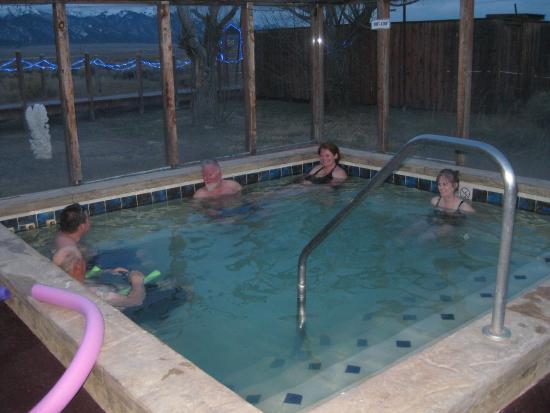 """Joyful Journey Hot Springs Spa: """"coolest"""" (lowest-heat) pool"""