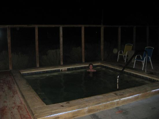 Joyful Journey Hot Springs Spa: hotter-than-hell pool
