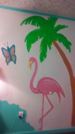 Caribbe Inn: Flamingo