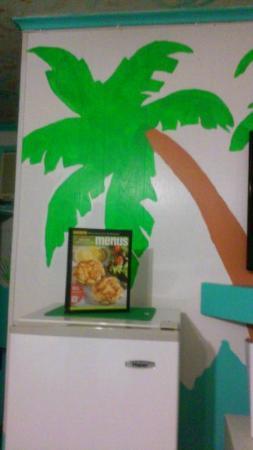 Caribbe Inn: Palm tree