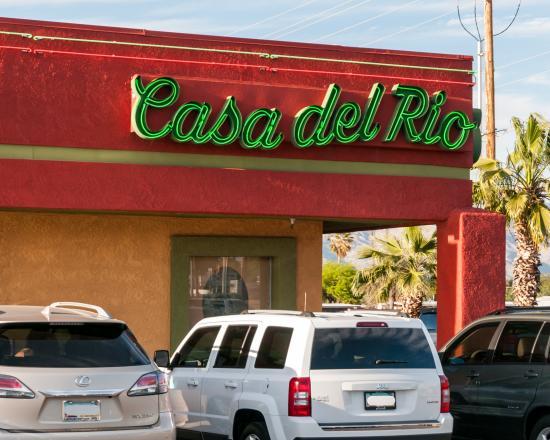 Casa Del Rio Mexican Restaurant Tucson Az