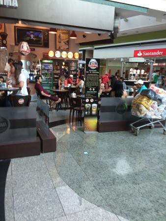 Quiosque Chopp Brahma Pq. D. Pedro Shopping