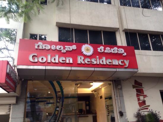 Golden Residency : Entrata dell'hotel