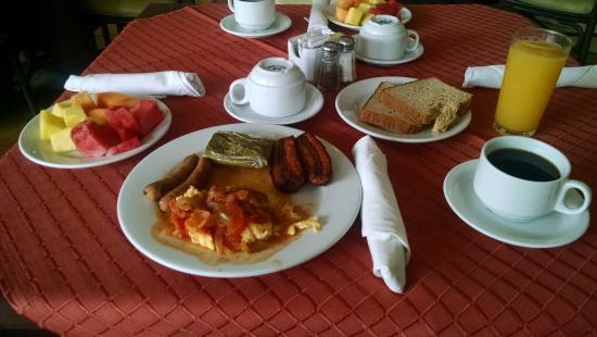 Hotel Terraza: Desayuno buffet