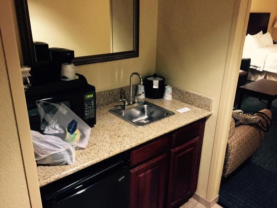 Hampton Inn Rock Hill : Nice mini kitchenette
