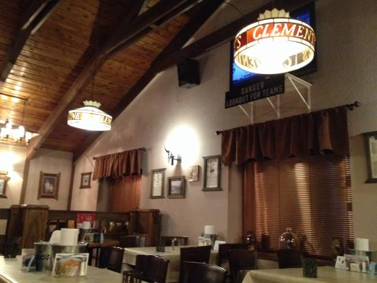 """Clementines Cattle Company: Cool """"cowboy vibe"""" atmosphere"""