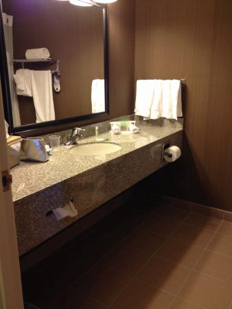 Holiday Inn Express Douglas: Very nice, clean bathroom