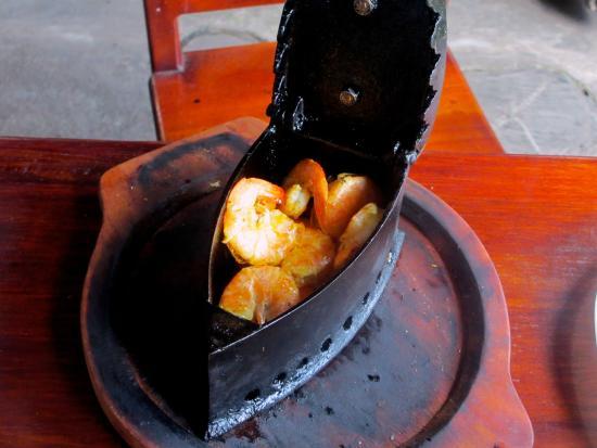EL DESCANSO MARINERO: Grilled shrimp (camarones a la plancha)