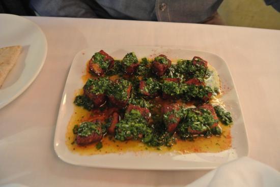 El Meze Restaurant: Pork appetizer