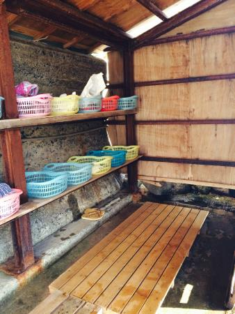 Hokkawa Onsen: 女性用の脱衣場