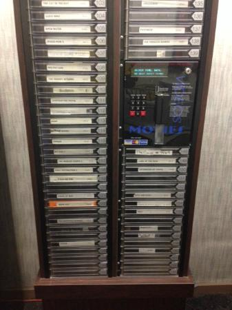 The Ptarmigan Inn: VHS Rental Vending Machine!