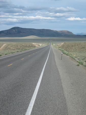 Loneliest Highway in America (Hwy. 50): the loneliest highway