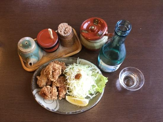 Momijitei : Fried Chicken with Local Sake