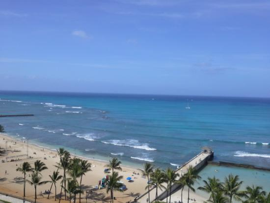Park Shore Waikiki: Ocean view from room
