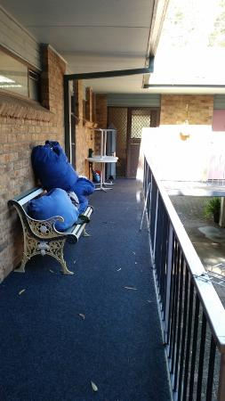 Port Stephens Motel: Laundry... there for at least 2 days