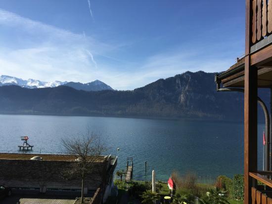 Hotel Gerbi: Blick auf den See vom Zimmerbalkon