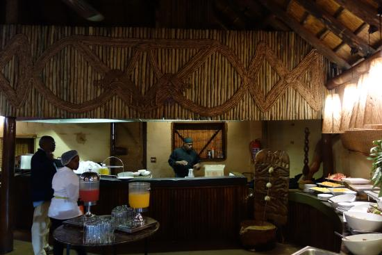 Three Cities Greenway Woods Resort: Petit déjeûner dans l'annexe