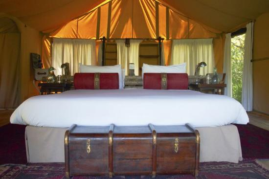 Great Plains Conservation Mara Expedition Camp: Mara Toto Camp, Kenya - Guest tent interior