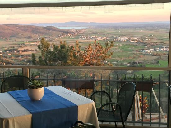 Hotel San Luca: Colazione con una vista incredibile