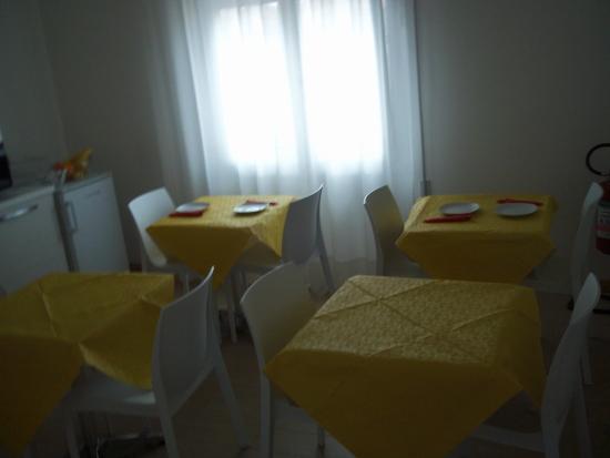 Hotel Gronda Lagunare: sala colazione