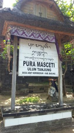Keramas, Indonesia: Pura Masceti